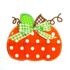 One of my favorite pumpkin designs for fall!