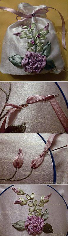 Sasha cintas bordadas |  Todo lo que se hace con sus propias manos