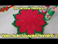 YouTube Crochet Mandala, Crochet Doilies, Crochet Home Decor, Crochet For Beginners, Love Crochet, Diy And Crafts, Crochet Earrings, Stitch, Blanket