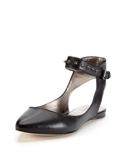 Verita Pointed-Toe Flat by Belle by Sigerson Morrison at Gilt