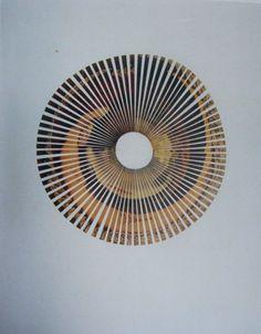 Jiří Kolář: Venuše (Boticelli), 1968-1969, roláž na mušelínu, 100 x 160 cm, Museum Kampa – Nadace Jana a Medy Mládkových photo via  Untitled Rollage 12 1/4″ x 9 3/8″ J iří …