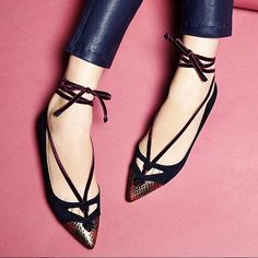 Let's get straight to the point, these are flat out adorable! #SarahFlint on Moda Operandi!