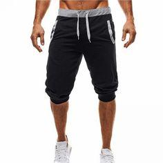 2018 Summer New Mens shorts juventus Printed Casual Fashion Jogger Knee Length Sweatpants Man Fitness Drawstring shorts Shorts Nike, Jogger Shorts, Harem Shorts, Jungs In Shorts, Baggy Pants, Men Pants, Cropped Trousers, Trousers Mens, Slacks Pants