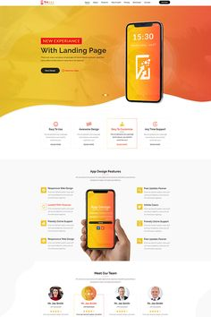 Thank you for showing interest in Nexus App Landing Template PSD, we hope you like it! Introduction:Nexus App Landing Template PSD is a web template design especially for app landing page. It will be helpful for marketing, promotion and SEO of the app. Landing Page Inspiration, Website Design Inspiration, Design Ideas, Website Layout, Web Layout, Layout Design, Design Websites, Webdesign Portfolio, Pag Web