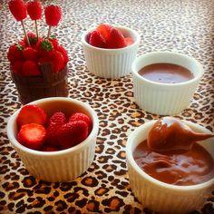 fondue de chocolate light