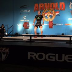It was an incredible moment seeing our man Leo Hernandez take first after hitting 184kg/405lb Clean and Jerk at the Arnold last night! An amazing feat taking the top spot over all the men while weighing in at 75.15kg! Well on his way in his quest to be the best! Congratulations Leo! #weightlifting #arnoldweightlifting #arnoldsportsfestival @leo_hernandez87