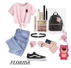 """Untitled #153"" by floridanuha ❤ liked on Polyvore featuring T-shirt & Jeans, Royce Leather, Essie, WithChic, Vans, Oliver Peoples, Amanda Rose Collection, Stila, L'Oréal Paris and Giorgio Armani"