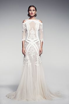 "Pallas Couture ""Fleur Blanche"" Spring/Summer 2014 Bridal Collection"
