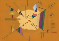 Vasilij Kandinskij - Diagonale, 1930 #arte