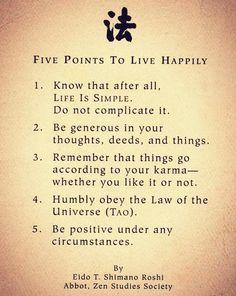Live Happily.