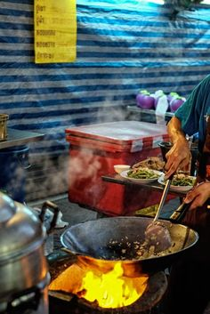 BEST EATS MIDNIGHT FOOD TOUR  Bangkok is truly the city that doesn't sleep, so don't expect your noshing to end after the sun goes down. For a food tour you'll never forget, hop in the Best Eats moto-rickshaw with a local foodie and you'll be whisked away to night markets, hidden food stalls and secret bars galore. Try authentic Guay Tiew Kua Gai (stir-fried rice noodles with chicken) that'll put your neighborhood pad Thai to shame, and wash it all down with an ice cold Chang.