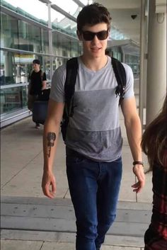 Shawn and his beautiful tattoo