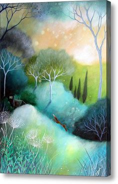 Homeward Canvas Print / Canvas Art By Amanda Clark