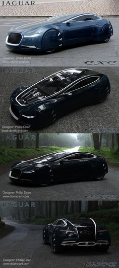 ♂ The Jaguar C-XC concept is the work of Phillip Dean, a 2008 graduate of the Coventry University Transportation Design course. The C-XC concept was created during an industry placement position with Jaguar. original from http://www.diseno-art.com/encyclopedia/concept_cars/jaguar_c-xc.html