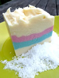 What's whipped soap?       It is still cold process soap made with lye and oil/butter, but added a twist similar to whipping body butter....