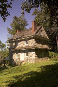 John Chads' House, Chadds Ford, Pennsylvania, 1725.