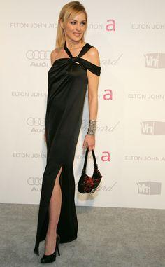 Los bolsos icónicos de todos los tiempos: Sharon Stone con un Fendi