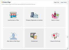 Facebook create business page profile