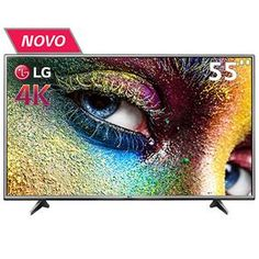 "Bahia - Smart TV LED 55"" Ultra HD 4K LG 55UH6150 HDR Pro - R$ 3.499,00 em 10X"