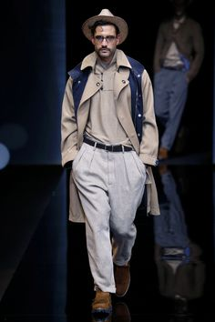 Giorgio Armani | Menswear - Spring 2017 | Look 7