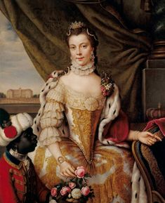 Charlotte of Mecklenburg-Strelitz (Sophia Charlotte) 1744-1818 was the Queen consort of the British King George III European History, British History, Art History, Oil Painting Gallery, Royal Collection Trust, American War, Anglo Saxon, King George, A 17
