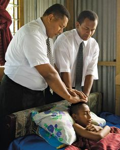 """""""...and he did heal them every one...""""  3 Nephi 17:9  I am indebted to those who have received power from the Master, Jesus Christ, to lay their hands on my head and give me a blessing from the Lord.  I know the Priesthood of God is on the Earth today."""