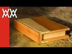 Wooden Book Keepsake Box Plans