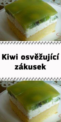 Kiwi, Vanilla Cake, Ham, Cheesecake, Food And Drink, Baking, Sweet, Desserts, Fotografia
