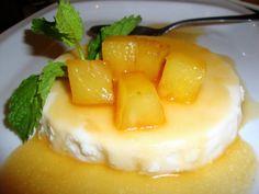 Pineapple Panna Cotta