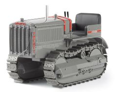 Norscot Cat Twenty Track-Type Tractor with metal tracks 1:16 scale by Norscot. Save 35 Off!. $64.95. From the Manufacturer                Die-cast metal scale model replica. Plastic display case. Historically accurate detailing on exterior, engine and operator's compartments. Authentic gray paint scheme with red vintage Caterpillar logo and accents.                                    Product Description                Premium die-cast collectible model features lifelike detail, movea...