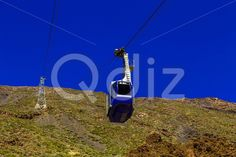 Qdiz Stock Photos Cableway or Funicular with Cabine