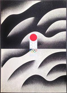 冬季オリンピック札幌大会'72 デザイン:田中一光、日宣美展出品作 1968年