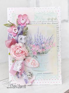 Vintage Cafe Card Challenge: Итоги розового этапа цветного марафона