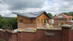 The windows are being installed, one month to go! #construction #architecture #design #shropshire
