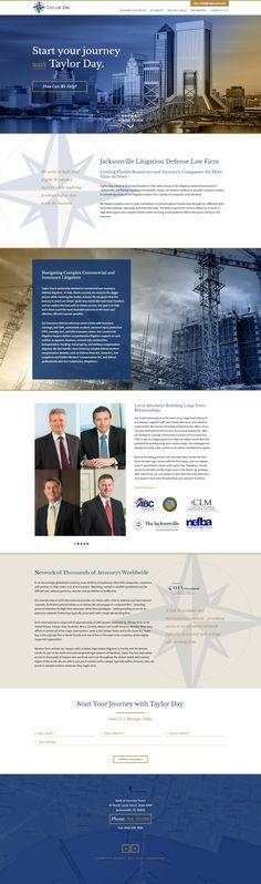 Paperstreet Law Firm Website Design