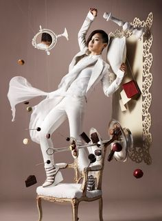 No use of Photoshop just wires and loads of chocolate - BRILLIANT!