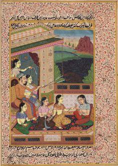 Rajasthani Miniature Painting Handmade Indian Maharajah Diwali Festival Folk Art