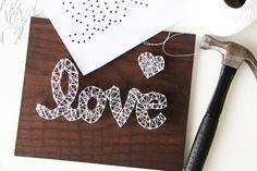 DIY String Art Projects are fun and easy to make! Here are some tips and tricks to get you started! – – – – – – – I have a new love and it's called string art. Have you seen string art before? I've been admiring this type of art for years but never once …