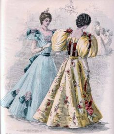 Making a Victorian Fan Skirt 1890s Fashion, Edwardian Fashion, Vintage Fashion, Women's Fashion, Vintage Beauty, Fasion, Paris Fashion, Historical Costume, Historical Clothing