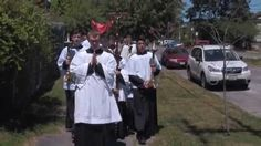 Corpus Christi procession - June 2015 - I am so thankful for Fr. Saguto and all that he has done in founding our parish. Towards the end of the video, you will be able to see how the Latin Mass is flourishing in our area. Faith Of Our Fathers, Corpus Christi, June, Thankful