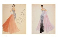 Vintage Valentino Sketches