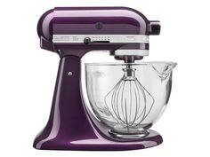 Plumberry 5-qt. Artisan Design Series Stand Mixer by KitchenAid at Cooking.com <3 this plumberry mixer!