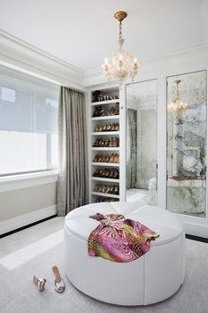 Dress room / Dressing rooms - Yatak odanızla giyinme odanızı ayırın