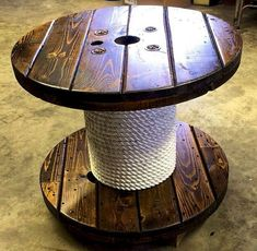 Marvelous Diy Recycled Wooden Spool Furniture Ideas For Your Home No 36