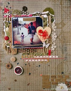 AMAZING layout by @Michelle Hernandez of myanaloglife.blogspot.com
