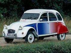 """Citroën 2CV6 """"Cocorico"""" (1986 – 1988)."""