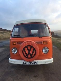 eBay: VW Campervan T2 1975 Wesfalia Orange #vwcamper #vwbus #vw