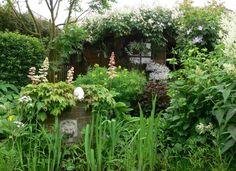Engelse/wilde/romantische tuin. Door Foxy