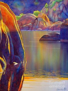 Morning Glow Painting  - Morning Glow Fine Art Print