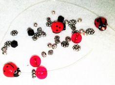 Lady Bug DIY Bracelet Craft